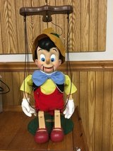 Pinocchio musical puppet in Westmont, Illinois