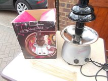 Chocolate Fountain in Lakenheath, UK