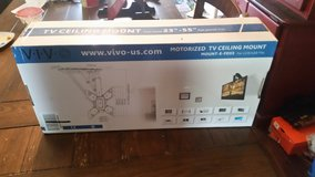 Vivo motorized tv ceiling wall mount in Conroe, Texas