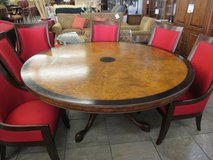 """72"""" Round Dining Room Table in Bartlett, Illinois"""