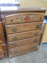 Bureau with Painted Accents in Bartlett, Illinois