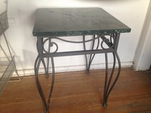 Beautiful Rod iron with green Marble Top Table in Alamogordo, New Mexico