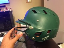 Schutt batters helmet (medium) w/ face mask in Bartlett, Illinois