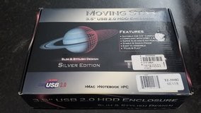 Moving Star 3.5 USB HDD Enclosure NEW in Naperville, Illinois