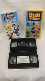 VHS - Bob the Builder; Scooby Doo; Elmo in Naperville, Illinois