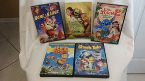 DVD - VARIOUS - CHILDREN - PG RATED in Naperville, Illinois