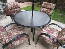 Patio Furniture Set in The Woodlands, Texas
