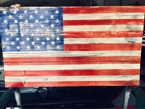 "Distressed 24x13"" commemorative flag in Beaufort, South Carolina"