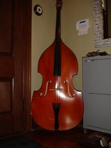 Vintage Full Size Upright Bass in Camp Lejeune, North Carolina