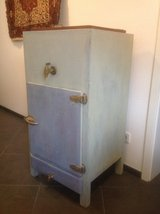 Vintage Wooden Ice Box in Ramstein, Germany