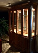 Bernhardt Formal Dining Set & LRG Display China Cabinet (More Pic's #4) in Wiesbaden, GE