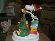 hallmark snoopy and woodstock christmas tree dated 2012 in Alamogordo, New Mexico