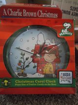 snoopy christmas clock..new in Alamogordo, New Mexico