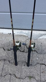 Fishing Rod and Reel Twin Set in Stuttgart, GE