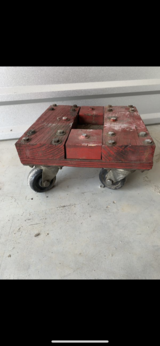 Workshop Wheel/Floor Dolly -$20 in The Woodlands, Texas