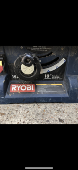 "RYOBI 10"" 15A Table Saw - Great Shape! $68 OBO in The Woodlands, Texas"