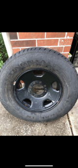 F350 or F 350 Spare Tire & Rim LT 275/70R18 125/122S. $195 OBO in Kingwood, Texas
