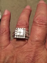 Princess cut ring in The Woodlands, Texas