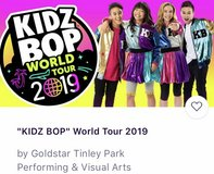 2  Tickets  Kidz Bop August 25 Hollywood Casino Ampitheater - Tinley Park in Naperville, Illinois