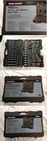 160-piece Socket Mechanics Tool Set w/Three Ratchet Handles in The Woodlands, Texas