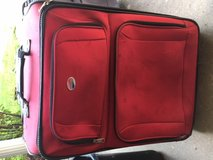 Red American Tourister Suitcase in Fort Leonard Wood, Missouri