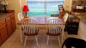 kitchen table w 4 chairs in The Woodlands, Texas
