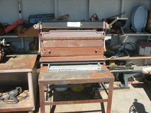 Sheet Metal Brake-Roll-Sheer/HD Rolling Table in Yucca Valley, California