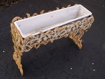 Antique Cast Iron Flower Box Planter in Chicago, Illinois
