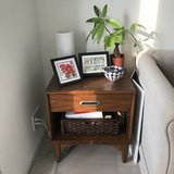 (2) Bedside Tables - Classic US Military Furniture in Okinawa, Japan