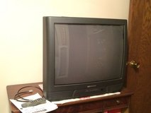 "TV  23"" Magnavox remote and manual in Glendale Heights, Illinois"
