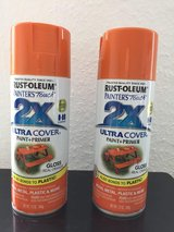 Rust-Oleum Painter's Touch 2X Ultracover Orange (2 cans) in Wiesbaden, GE
