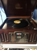 Crosley Radio AM/FM Radio CD Player Cassette Player Record Player in Fort Knox, Kentucky