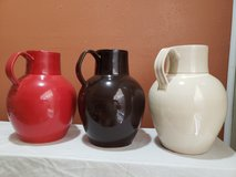 3 williamsburg global views vase/ pitchers in Conroe, Texas
