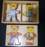 Boys & Girls Bears Wood Clothes Puzzles in Clarksville, Tennessee