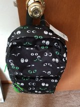 Black googly eyes backpack in Bolingbrook, Illinois