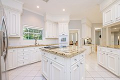 REDUCED! 4087' living area, 4-5 bedrooms, 5 baths, oversized 3-car garage,2 acres co... in Houston, Texas