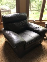 Leather chair in Chicago, Illinois