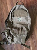 Tactical backpack in Okinawa, Japan