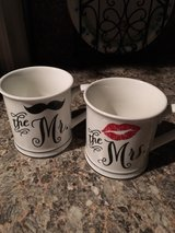 Mr and Mrs coffee cups in Conroe, Texas