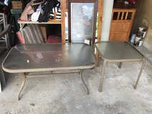 Patio Furniture: End table and coffee table in Chicago, Illinois