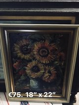 Sunny Sunflower Painting in Ramstein, Germany