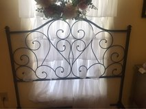 Iron Metal Full Size Scroll Headboard in Kingwood, Texas