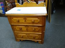 Eastlake Marble Top Chest in Bartlett, Illinois
