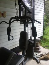 Marcy weight machine in Fort Leonard Wood, Missouri