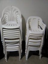 $50. FIRM IN BRYNNMARR PLASTIC CHAIRS... NO QUESTIONS EITHER YOU WANT THEM OR NOT in Camp Lejeune, North Carolina