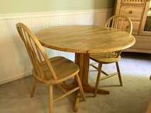 Table and 2 Chairs Set in Glendale Heights, Illinois