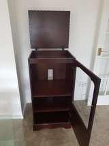 Mahogany Hi fi cabinet in Lakenheath, UK