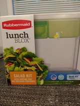 Rubbermaid Salad Kit Lunch Box in Chicago, Illinois