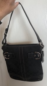 Black Coach purse in Chicago, Illinois