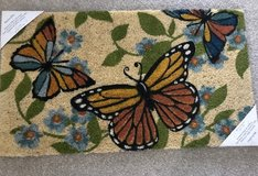 New Monarch Butterfly Door Mat in Chicago, Illinois